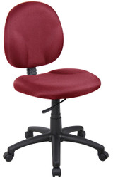 BOSS Furniture DIAMOND TASK CHAIR (BURG),BL-0047