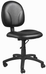 BOSS Furniture DIAMOND TASK CHAIR BLACK CARESSOFT ,FP-0003