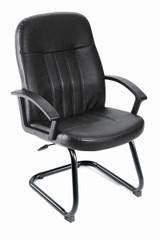 BOSS Office Furniture B8109 W/SLED BASE