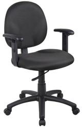 BOSS Furniture B9090-BK W/ B909JARM