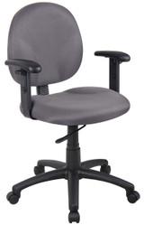 BOSS Furniture B9090-GY W/ B909JARM