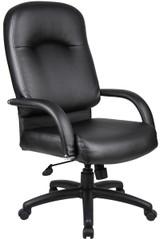 BOSS Chair HIGH BACK CARESSOFT CHAIR BK
