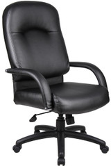 BOSS Chair B7402 HI BACK CARESSOFT CHAIR W/KNEE TILT