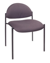 BOSS DIAMOND STACKING CHAIR (GREY)