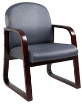 NEW MAHOGANY FRAME SIDE CHAIRS