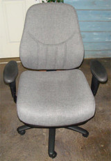 Used Task Chair Gray Cloth