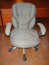 Used Gray Fabric Task Chair