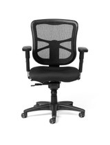 Milan Ultra Mesh Mid-Back Intensive Task Chair w/ Seat Slider