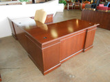 Traditional U shape Desk Unit with Chair