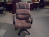 Tan Suede Executive Chairs (10 Available)