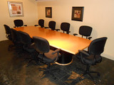10 ft. Maple Wood Conference Table KNOLL