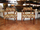 Tiger Print Chairs