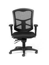 Milan Ultra Mesh High-Back Intensive Task Chair w/ Seat Slider