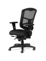 Milan Ultra Mesh High-Back Intensive Task Chair w/ Seat Slider