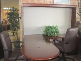 Wood L-shape bullet desk set (Call 407 896 1251 for delivery)