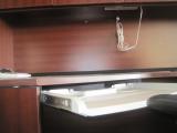 4 Piece Office Desk Set Combo Hutch