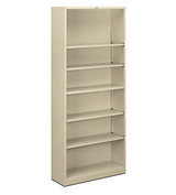 Hon Brigade 6-Shelf Bookcase