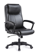 Functional black modern high back ergonomic computer chair With Arm
