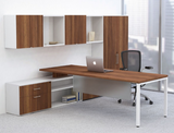 Contemporary desking system