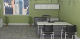 GRIGIO Potenza Executive Desk-sling combination