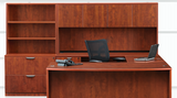 WOFD Bowfront Desk (Synergy Laminate Series)
