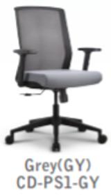 Concetto Ergonomic Task Black Fabric Seat