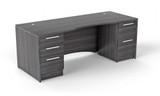 Double pedestal rectangular desk