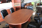 8' Racetrack Conference Table