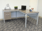 L-shaped desk for sale