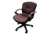 Allsteel Swivel Office Chair Burgundy