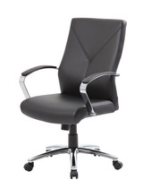 Leather plus executive chair