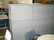 "USED HON LATERAL FILES 36"" 5 DRAWER"
