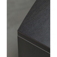 Reception Desk with Laminate Transactional Floated Top