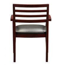 Fascino Mahogany Wood Guest Chair