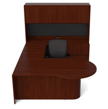 Cherryman Ruby P-Shape L-Desk (Left or Right)