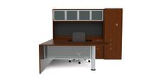 Cherryman Jade Bullet Shape U-Desk w/ Wardrobe