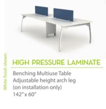 "High Pressure Laminate 142"" x60""-Knife Edges"