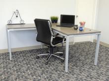 L-shape desk home office