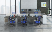 Benching desk systems