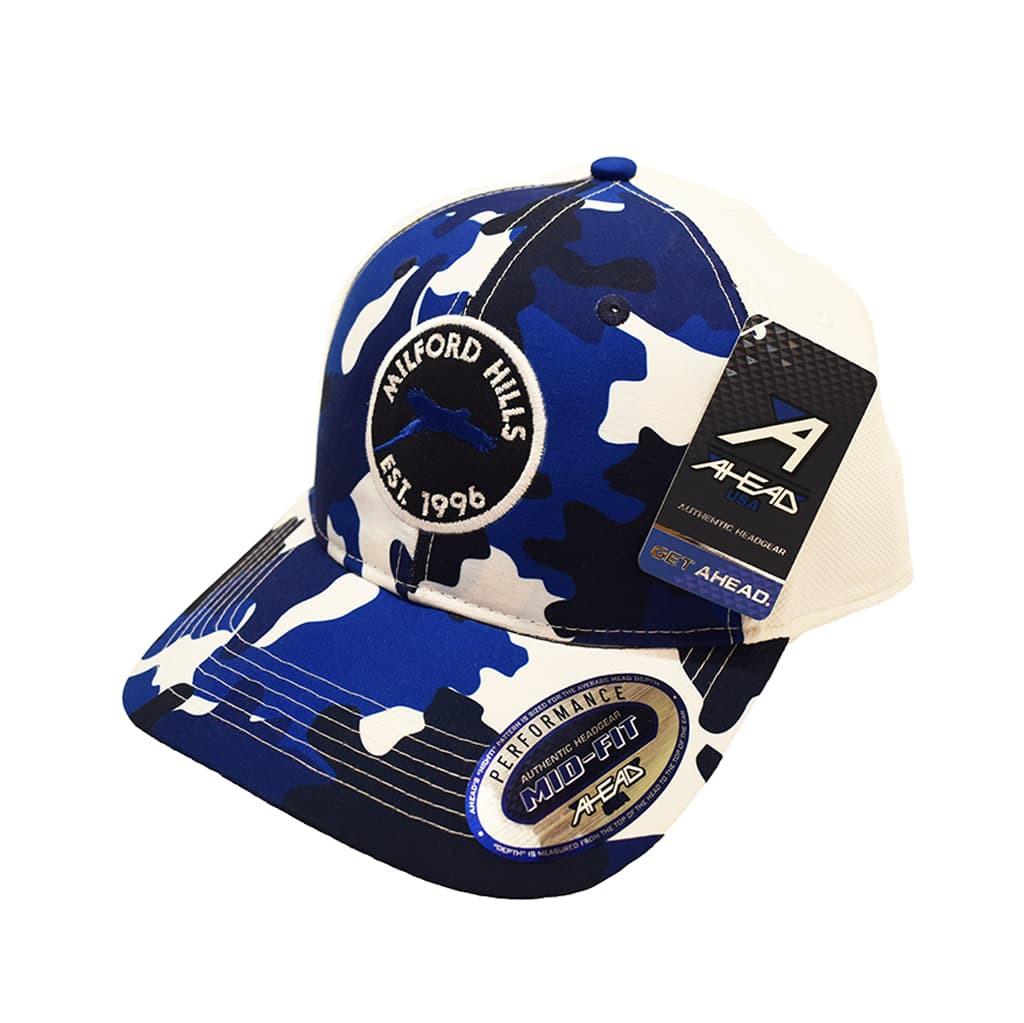 Ahead Performance Sublimination Print Authentic Headgear Mid-Fit
