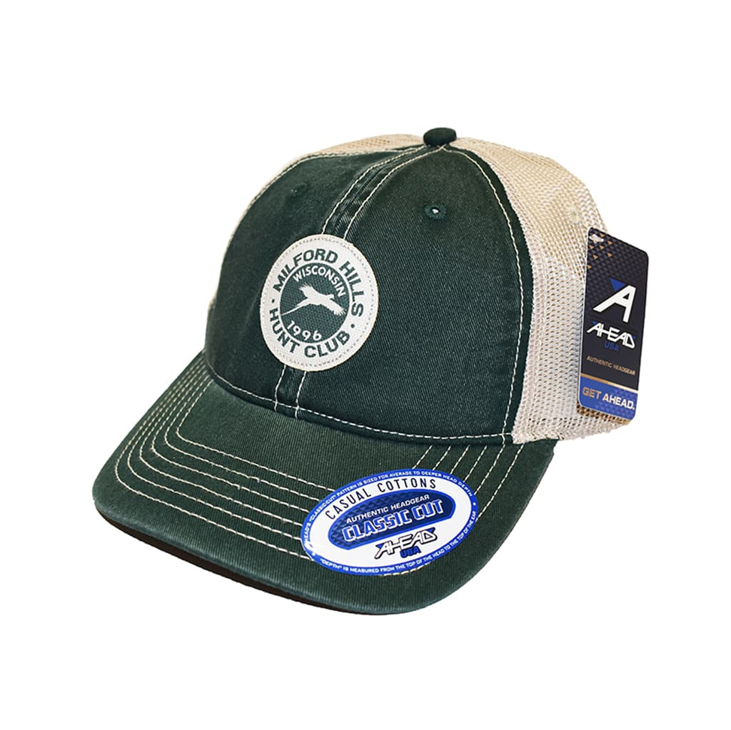 Ahead Casual Cottons Authentic Headgear Classic Cut with Patch Logo