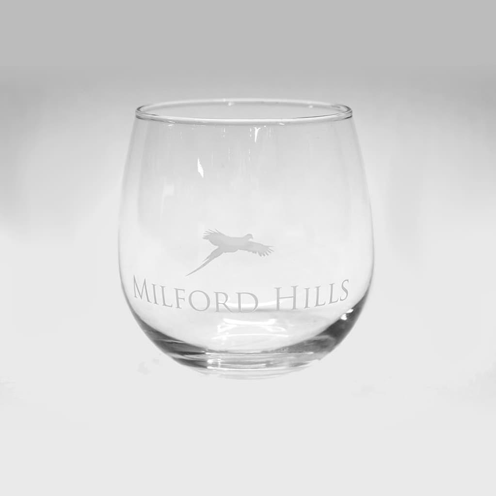 Milford Hills Stemless Wine Glass