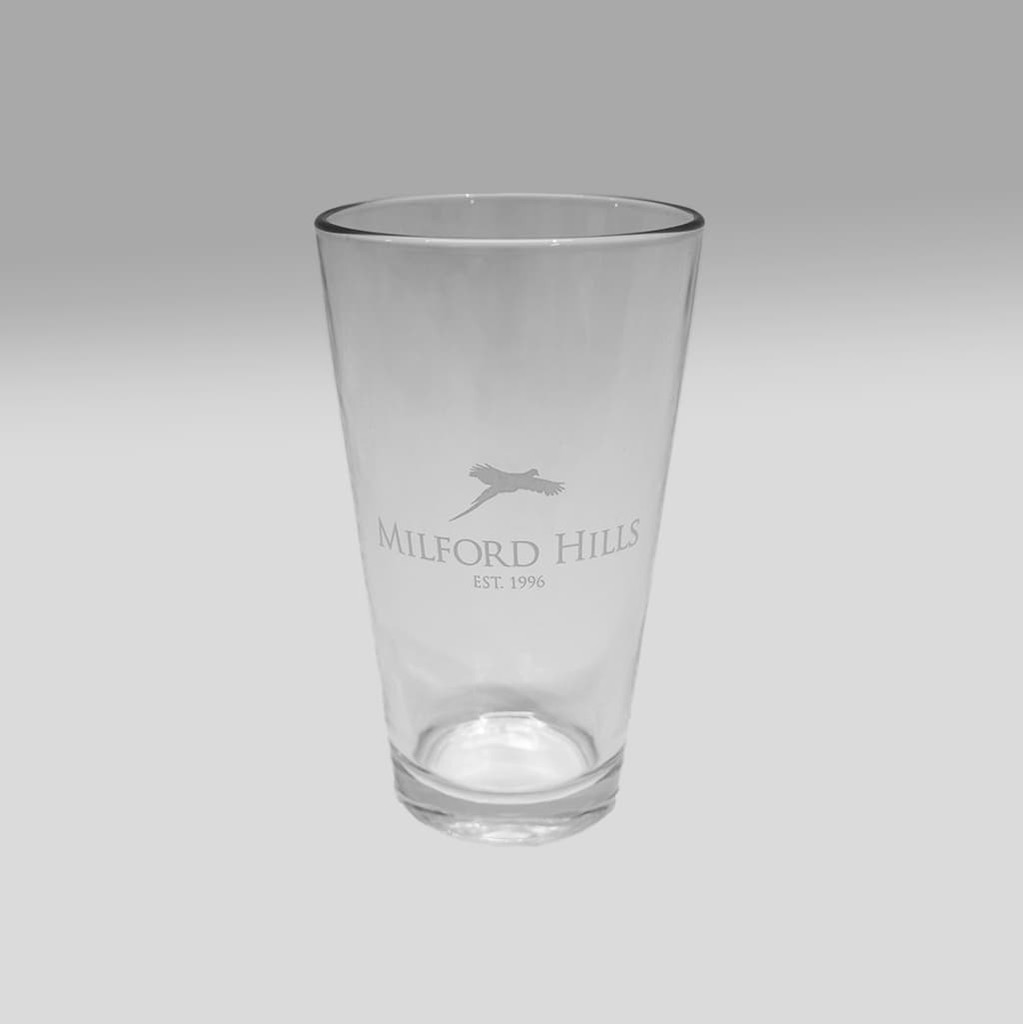 Milford Hills Pint Glass