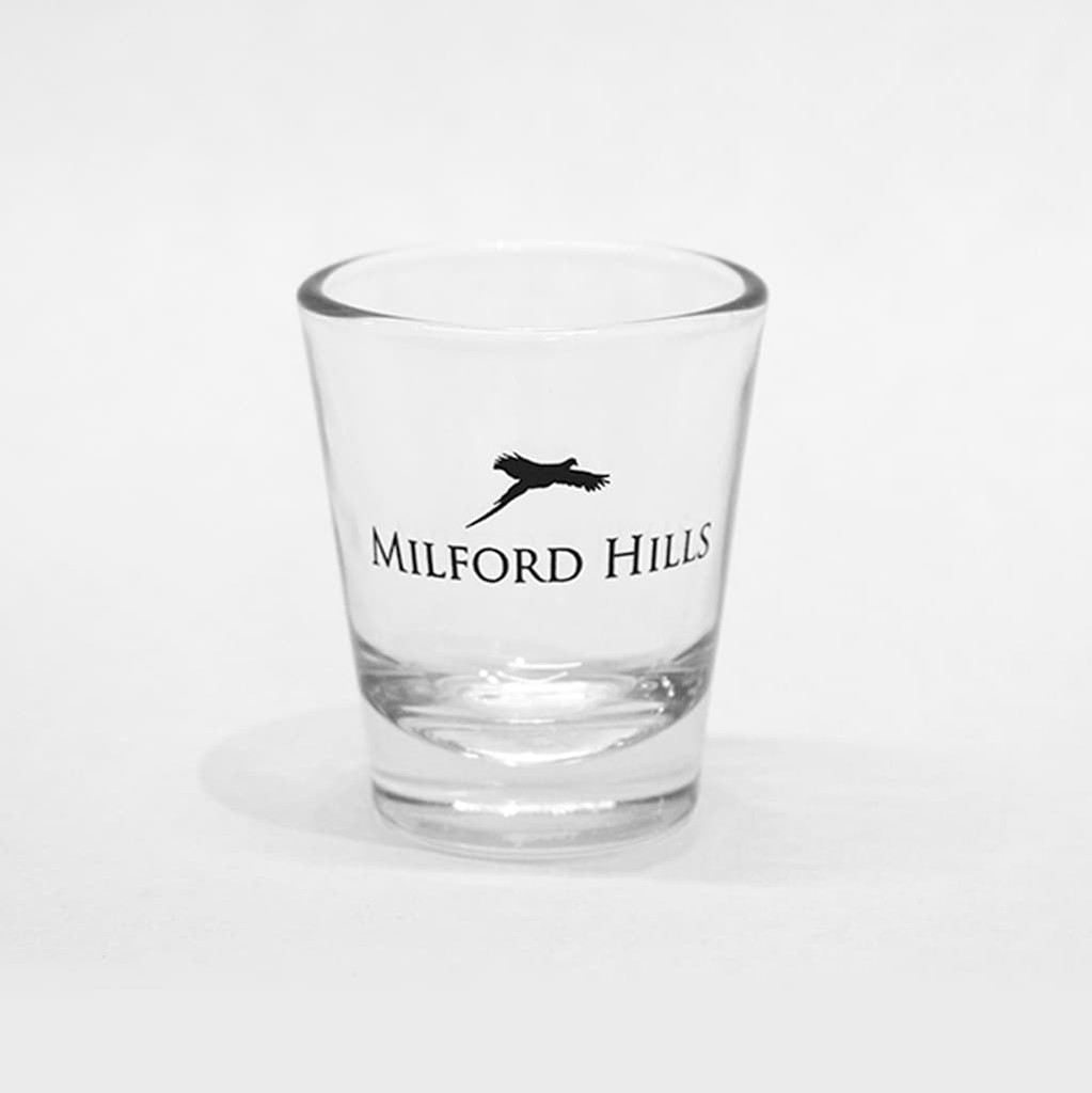 Milford Hills Shot Glass