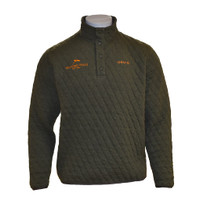 Orvis Trout Bum Quilted Snap Sweatshirt