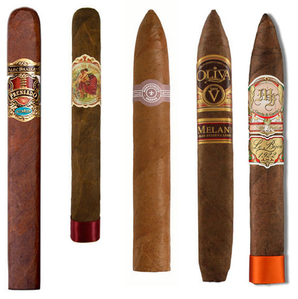 Best Cigars by Cigar Aficionado (2011 - 2015)