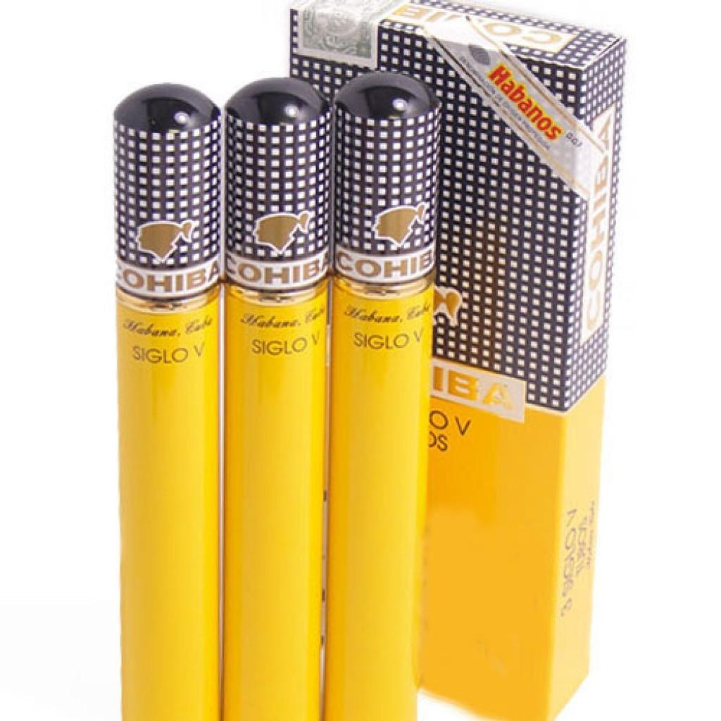 Cohiba Siglo V - Box of 15 (5x3) Aluminium Tubes