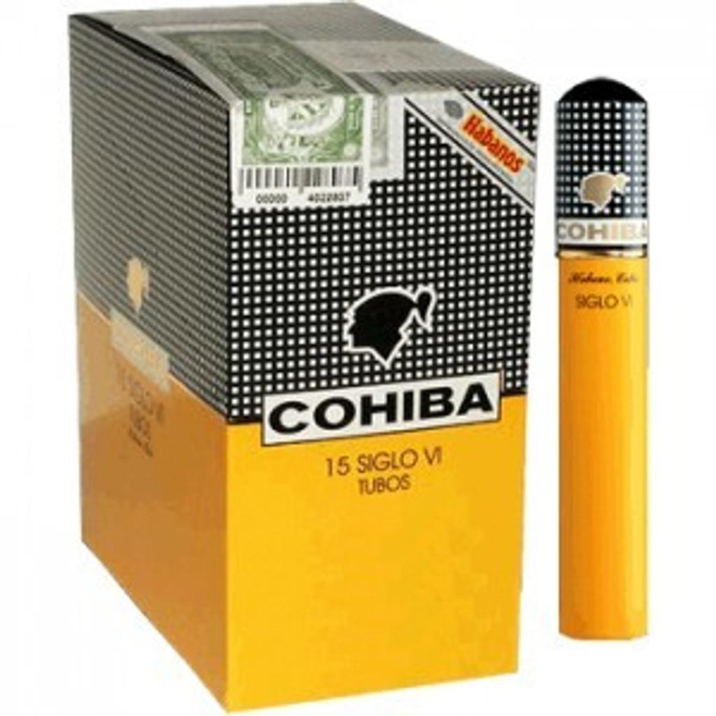 Cohiba Siglo VI - Box of 15 (5x3) Aluminium Tube