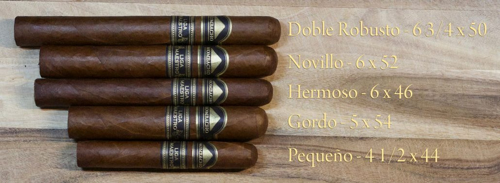 Mombacho Liga Maestro - Sizes