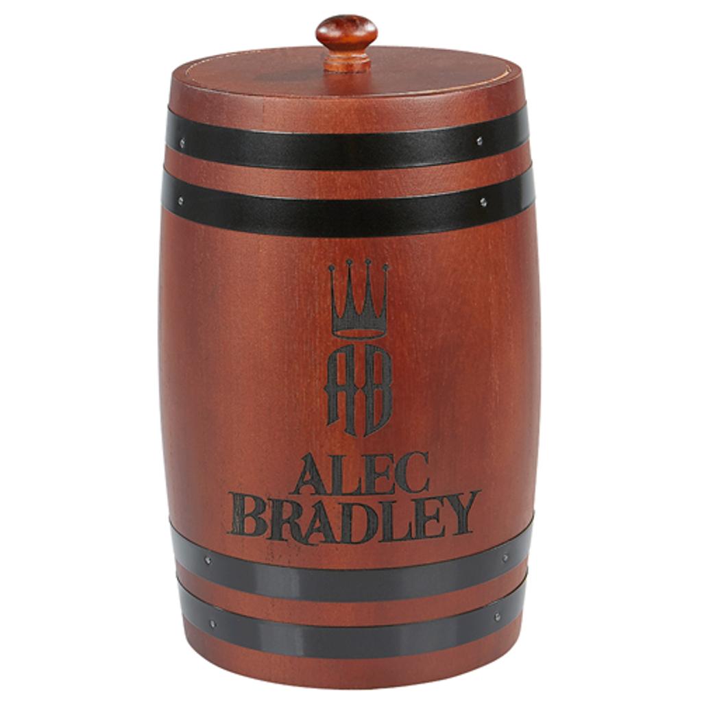 Alec Bradley Firkin Humidor - Dark Wood